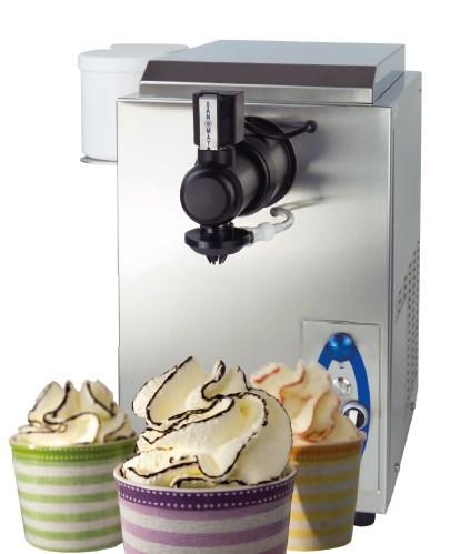 Vaihinger Sanomat Euro-Cream-Wave 6 Liter Sahneautomat mit Saucen- Streifen
