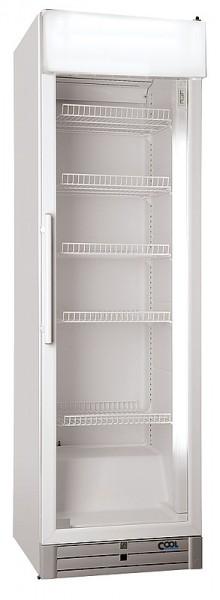 COOL-LINE CD 480-D Glastürkühlschrank mit Umluftkühlung und Werbedisplay
