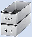 Cool Compact Schubladen GN 1/2 + 1/2 für Kühltisch GN 1/1