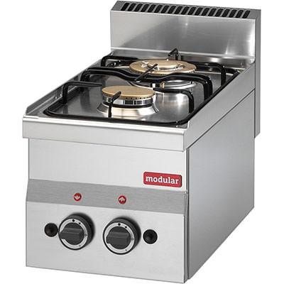 Modular Gasherd 2 Flammen - Tischgerät - Serie 600M