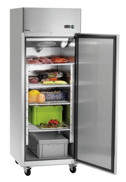 Bartscher 670L Kühlschrank  670 Liter - Edelstahl - tropenttauglich