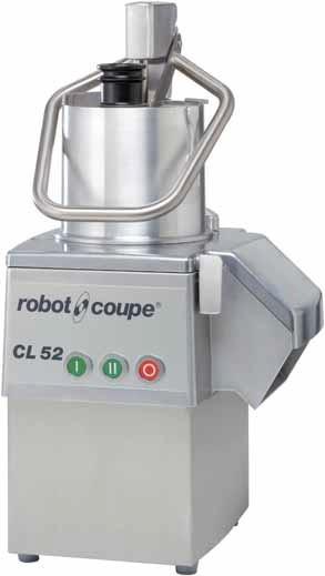 Robot Coupe CL 52  mit 1 Drehzahl Gemüseschneidemaschine 230 Volt