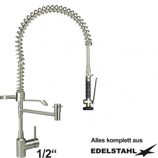 """Knauss armag classic Vorspuelbrause 1/2"""" - 1C.3023.KHS1.0ICT Edelstahl"""
