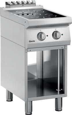 Bartscher Induktionsherd 700 2FLOU-1 Serie 700