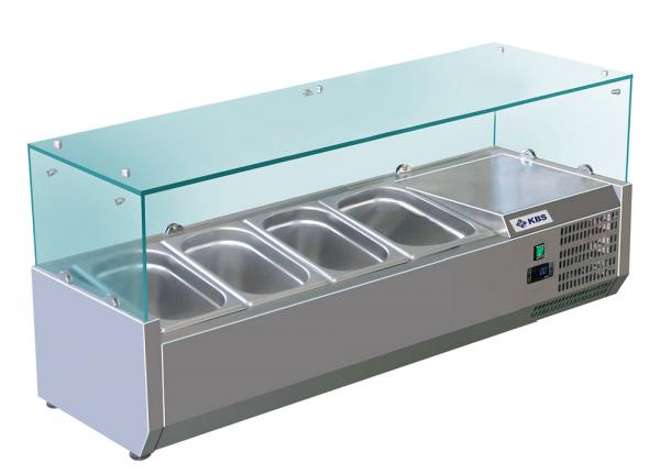KBS RX 1400 Kühlaufsatz mit Glasaufbau