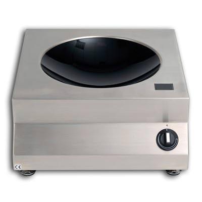 Berner Induktionstischwok  3,5 kW Auftischgerät