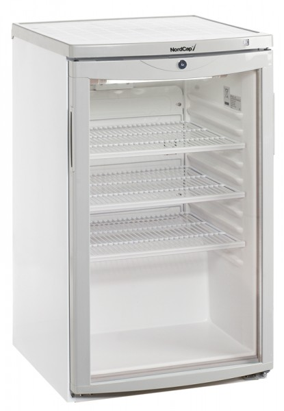 Nordcap Gewerbekühlschrank KU 120 G Stille Kühlung - Breite 503 mm