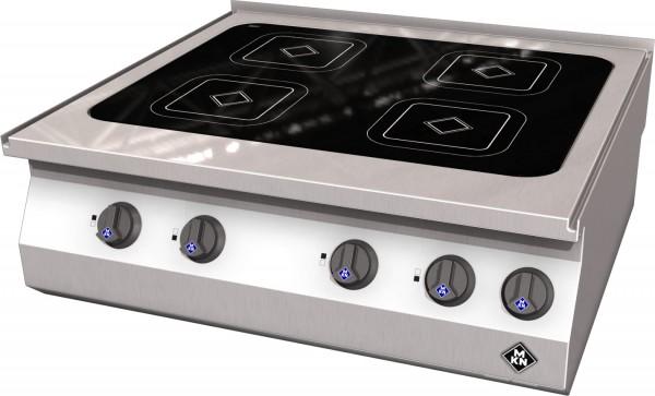MKN Elektro-Kocher Vitro Ceran 4 x 210 Counter SL