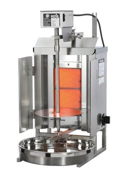 POTIS GD2 (Flüssiggas/Erdgas) Dönergrill