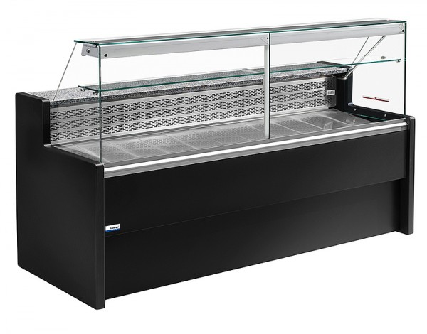 COOL-LINE TIBET 250 Freikühltheke - statische Kühlung - Breite 2500 mm