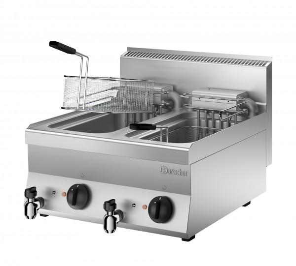 Bartscher Serie 650 Elektro-Fritteuse 2 x 10 Liter