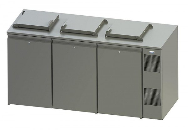 COOL-LINE WASTE 240 / 3 - Abfallkühler 3x 240 Liter steckerfertig mit Winterschaltung / Sumpfheizung
