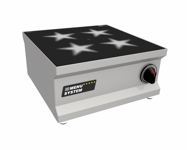 MENU SYSTEM MS-I-10G Induktionsgerät mit flächendeckendem Grosskochfeld, 9 kW Tischgerät