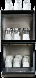 Melitta Cafina XT-CW30 Tassenwärmer für Kaffeevollautomat für ca. 80 - 120 Tassen