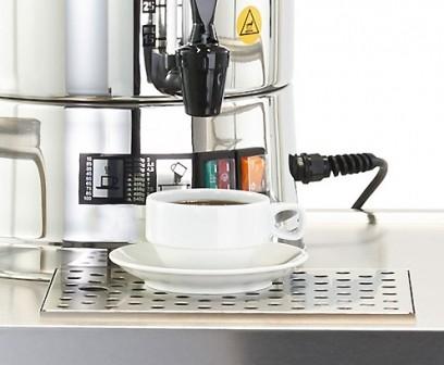 Hogastra Abtropfschale aus Edelstahl für CNS Kaffeemaschine