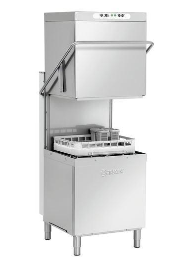 Bartscher DS 2002 Haubenspülmaschine / Durchschubspülmaschine ohne Wasserenthärtung