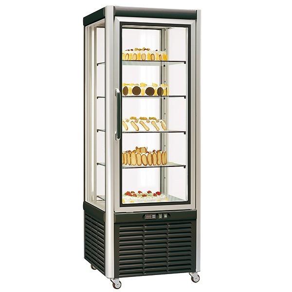COOL-LINE PV 35 CL Panorama-Kühlvitrine  mit 5 in der Höhe verstellbare Glasetagen