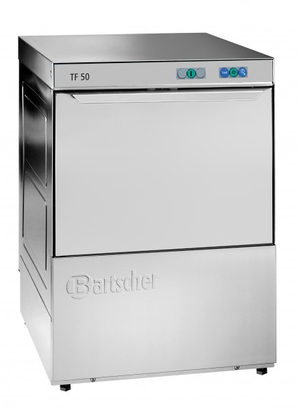 Bartscher Deltamat TF 50 LR Geschirrspülmaschine mit Laugenpumpe und Dosiergerät