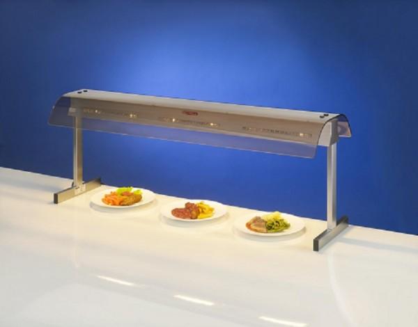 Scholl Quarz Kompakt  Wärmebrücke 29100/H mit Acryglashaube und 2 Strahlern